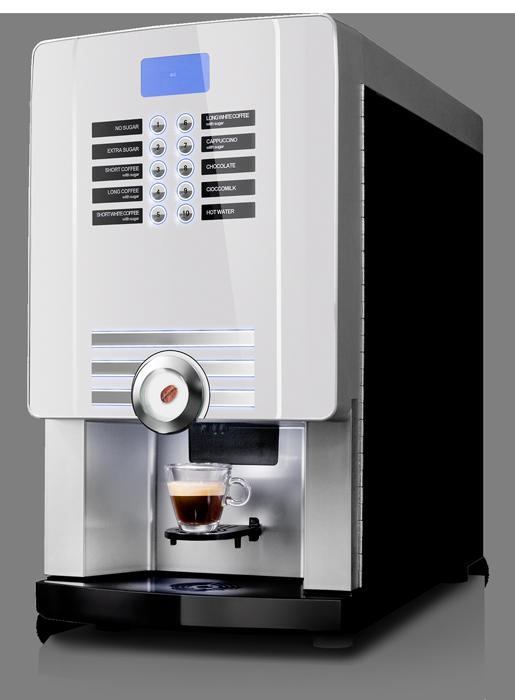 máquina de café rhea para alugar