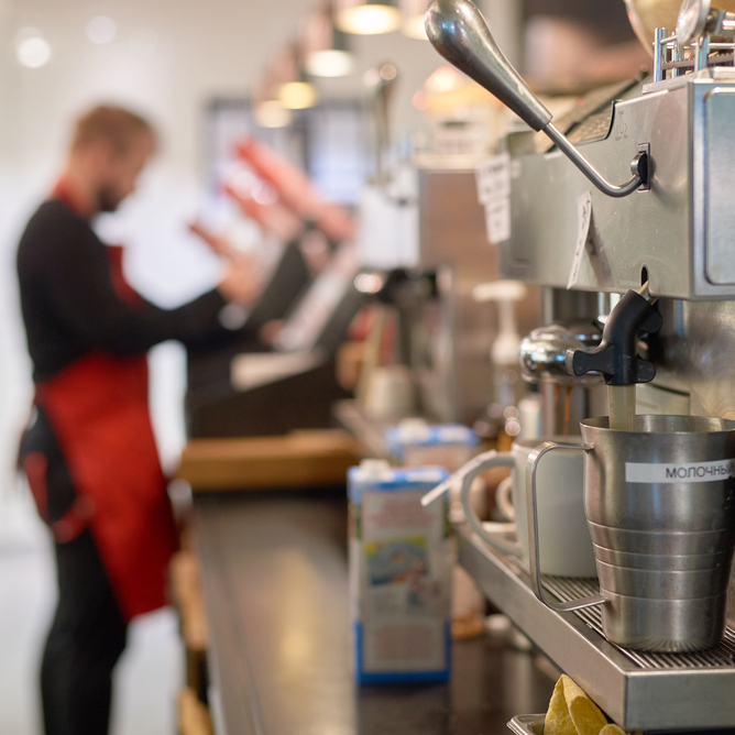 Máquinas de café manutenção Pier Coffee