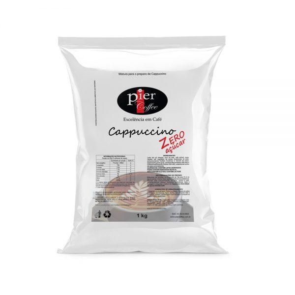 Cappuccino Pier Coffee Zero Açúcar 1Kg